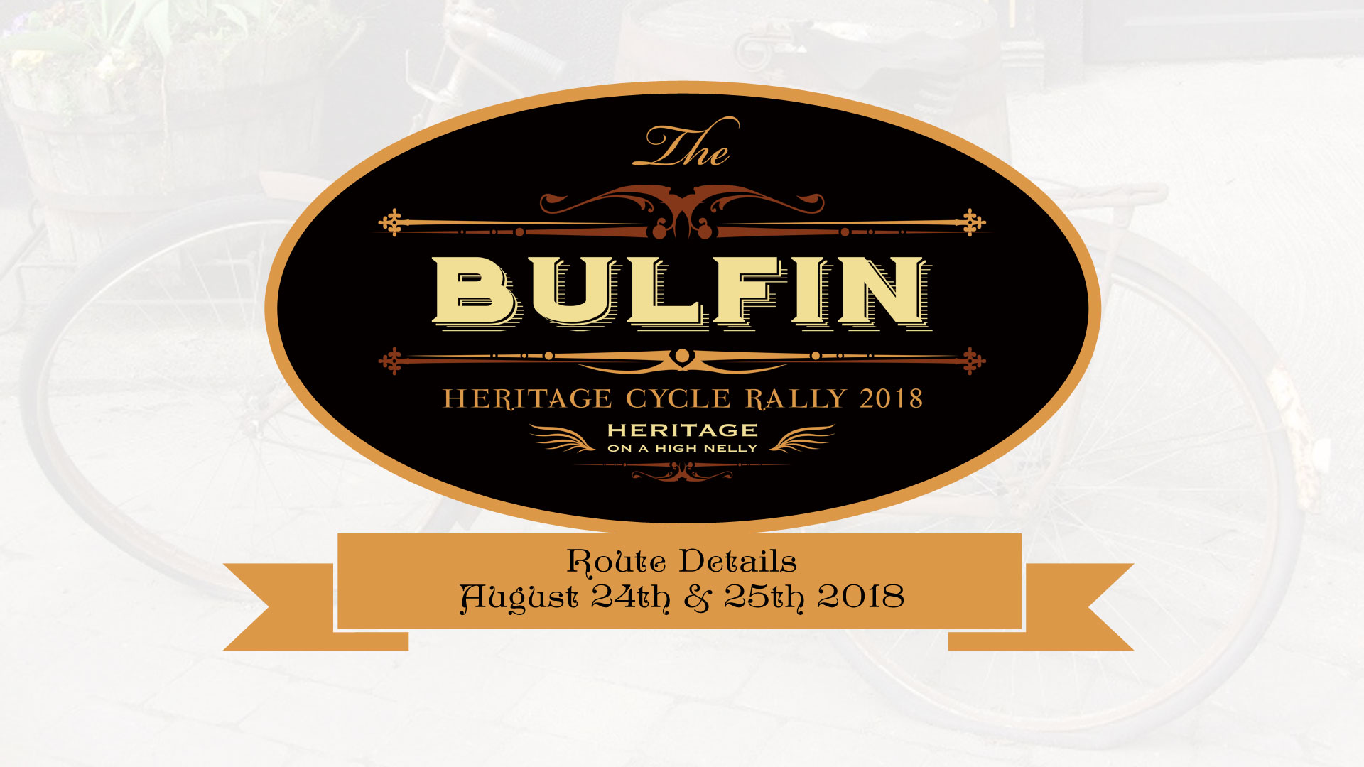 Day One of the Bulfin Heritage Cycle, following in the wheel rims of William Bulfin